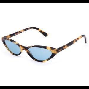 Vogue Gigi Hadid leopard sunglasses
